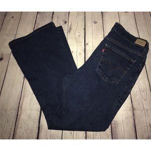 Levi's 512 Bootcut Jeans 16 SHORT